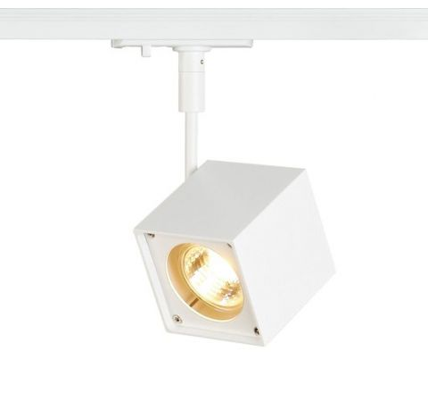 SLV 143351 Altra Dice Spot Light White Dimmable, requires GU10 LED