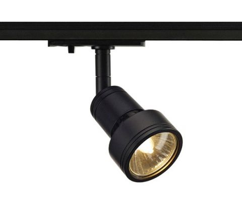 SLV 143390 Puri Spot Light Black Dimmable, requires GU10 LED