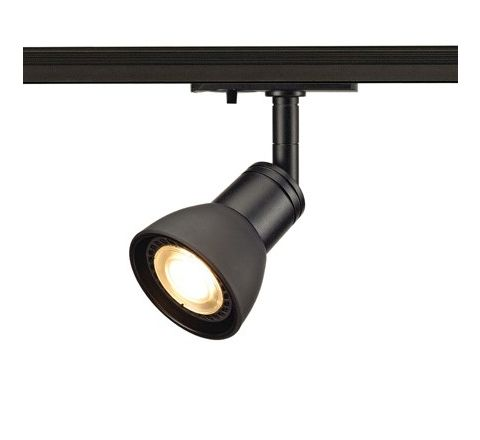 SLV 143450 Puria Spot Light Black Dimmable, requires GU10 LED