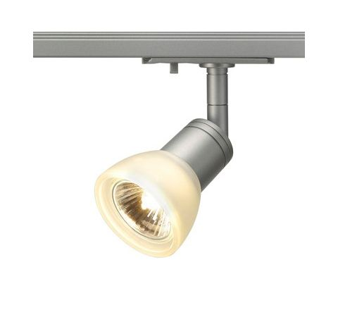 SLV 143454 Puria Spot Light Silver Grey Dimmable, requires GU10 LED