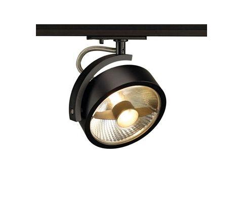 SLV 143540 KALU Spot Light Black Dimmable, requires QPAR111 LED