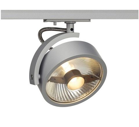 KALU Spot Light Silver Grey Dimmable, requires ES111