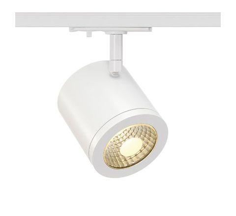 SLV 143951 Enola C White Track Light, 11W LED, 900lm, 3000k, 55 Degree