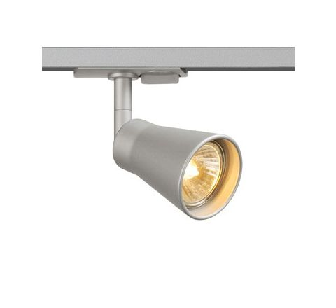 SLV 144204 AVO Spot Light Silver Grey Dimmable, requires GU10 LED