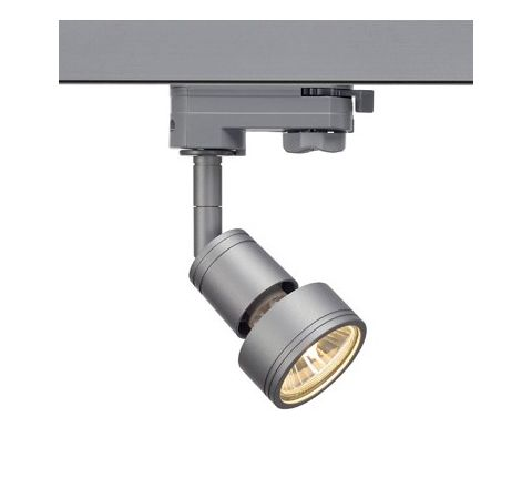 SLV 153564 PURI lamp head Silver Grey, Dimmable, Requires GU10 LED
