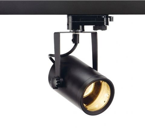 SLV 153850 EURO SPOT Black, Dimmable, Requires GU10 LED