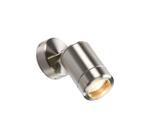 MLS ADJGU10SS Adjustable Heavy Guage Stainless Steel 304 GU10 Wall Light