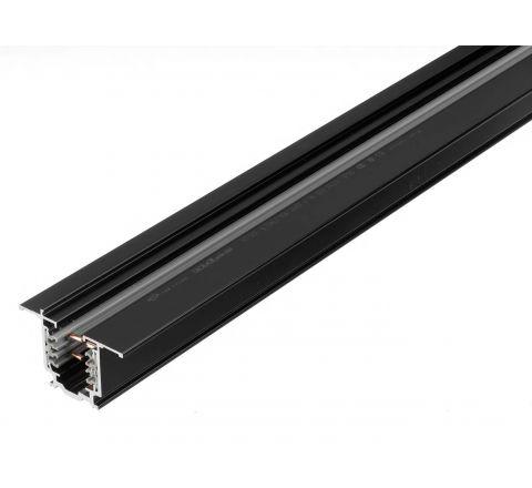 Global XTSF4200-2 Global Recessed Track 2m Black