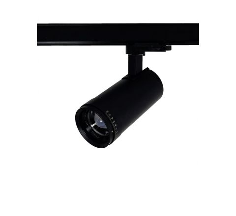 Zoom 10 - 60 degree Switchable 3000K/4000K/5700K Dimmable 15W Multi Circuit Track Spot