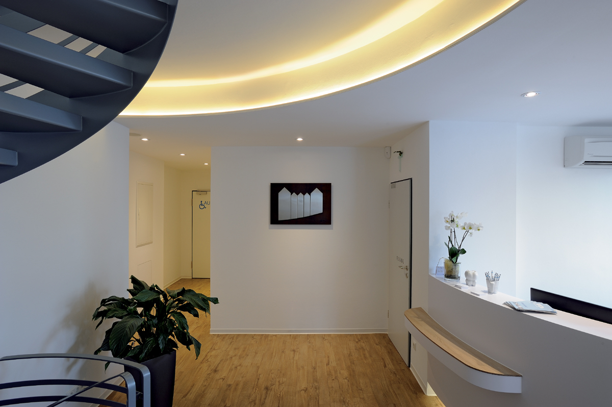 Lighting Basement Washroom Stairs: LED Strip Lights From Modern Lighting Solutions