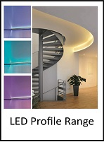 Led profile front page